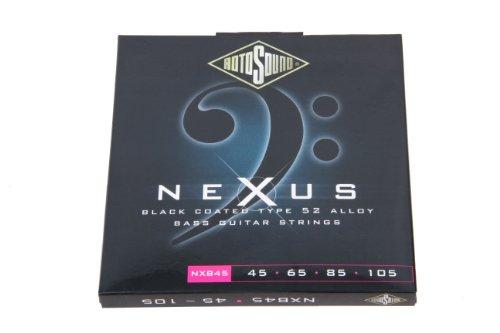 Rotosound Nxb45 Nexus Coated Bass Guitar Strings (45 65 85 105)