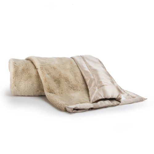 Cocalo Mix & Match Lux Fur Blanket, Taupe