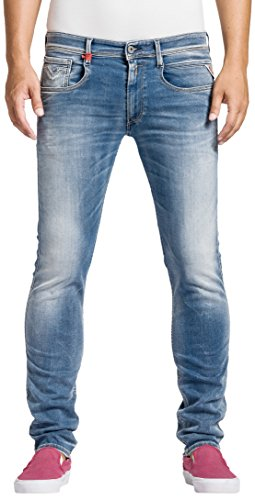 Replay - Jeans, Uomo, Blu (Blau (Blue Denim 10)), 46/48 IT (33W/34L)