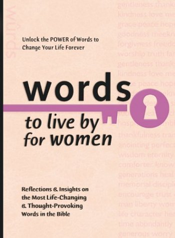 Words to Live By for Women (Words to Live by (Bethany House)), Baker Publishing Group