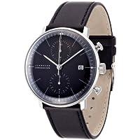 [ユンハンス]JUNGHANS 腕時計 自動巻き マックスビル クロノスコープ 027 4601 00 メンズ 【正規輸入品】