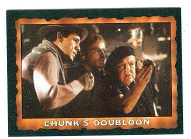The Goonies trading card 1985 Topps #25 Chunks Doubloon The Fratelli Gang
