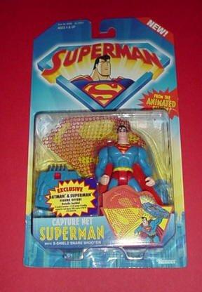 SUPERMAN MAN OF STEEL ANIMATED:CAPTURE NET SUPERMAN FIGURE - 1