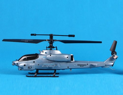 Cobra Design 2.4G 3-Channel Remote Control Helicopter (Blue)