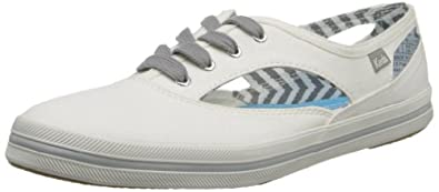 Buy Keds Ladies Cut-Out Seasonal Solids Fashion Sneaker by Keds