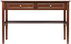Amazon Com Oxford 48 Quot W Standard Writing Desk Two Drawer
