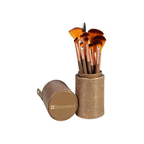 BH Cosmetics Shimmering Bronze Brush Set - 12 Pc (Bh Cosmetics 12 Piece Brush Set compare prices)