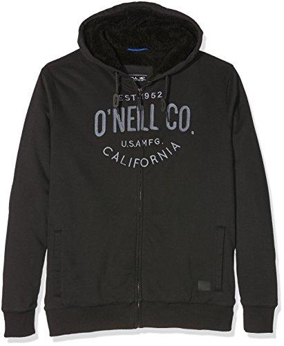 O'Neill -  Felpa con cappuccio  - Uomo, UOMO, Felpa con cappuccio, sportiva, LM Pch Sherpa Hoodie, nero, XL