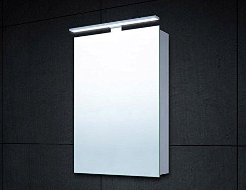 Mirrored Cabinet with Aluminium Body 60 x 40 CM