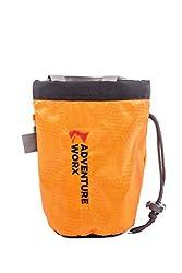 AdventureWorx Ascend H01 Chalk Bag for Climbing/ Bouldering(Orange)