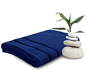 Story@Home 100% Cotton Womens Bath Towel Premium Superior Trendy Quick Dry Navy