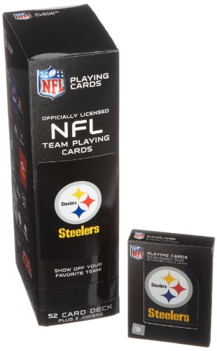NFL Pittsburgh Steelers Playing Cards - 1
