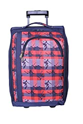 BagsRUs Maxlite Cabin Trolley Bag (Navy Blue, ca106fnb)