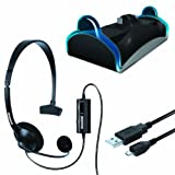 DreamGEAR Charge and Chat Bundle - PlayStation 4