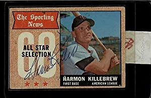Harmon Killebrew Minnesota Twins Signed 1968 Topps #361 Trading Card 11338 - MLB... by Sports Memorabilia