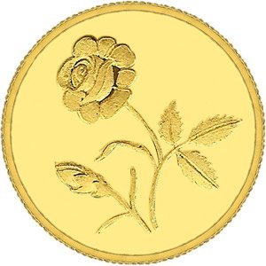 10gm Gitanjali Rose 995 Purity Coin | Color Yellow
