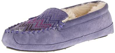 ACORN Women's Kinley Moc Slipper,Lilac,11 US/W11 M US