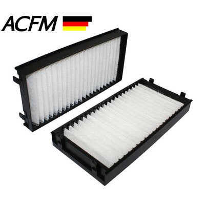 Particulate Cabin Air Filter For 2007-2009 Bmw X5 3.0Si (Pkg Of 2) - 64316945585