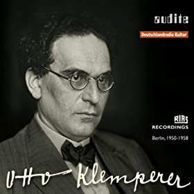 Audite Edition Otto Klemperer (1st?Master Release: Rias Recordings From Berlin, 1950 - 1958)
