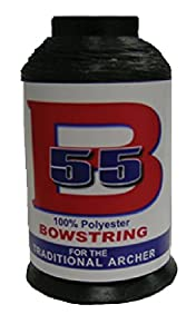 BCY BOWSTRING PRODUCTS B55 POLY STRING 1/4LB BLK