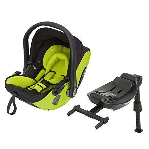 Kiddy Babyschale Evolution Pro 2 Babysafe + Isofix Base Apple
