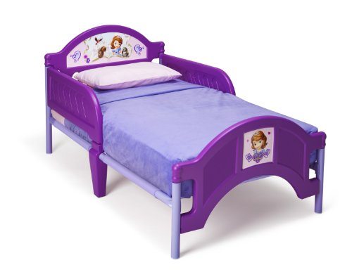 Delta Children Plastic Toddler Bed, Disney Junior Sofia the First