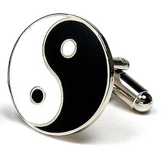 Yin Yang Zen Ying Cufflinks Cuff Links new