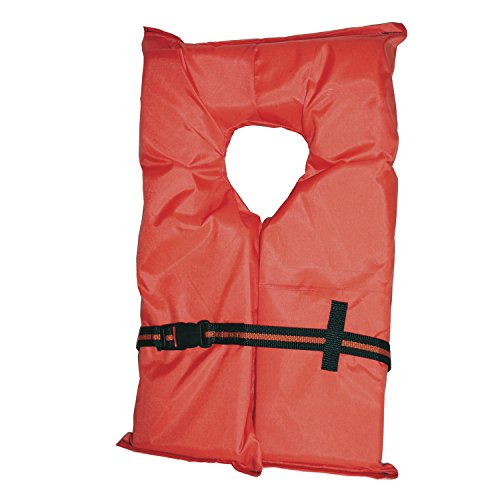 Absolute Outdoor Kent Adult Compliance PFD Type II Life Jacket (Large/3 X-Large, Orange) (Life Preserver Type 1 compare prices)