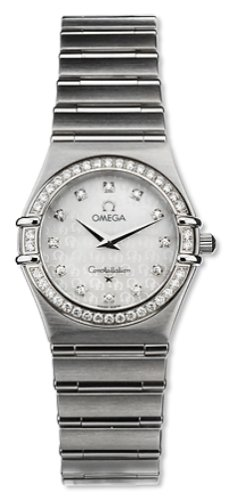 Omega Women's 1458.75.00 Constellation Quartz Small Diamond Watch