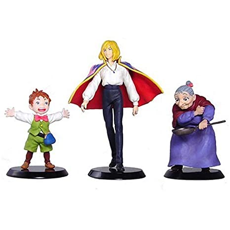 Studio Ghibli Image Model Collection Howl's Moving Castle (set of 3)