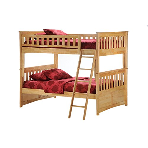 Full Over Futon Bunk Bed 3579 front