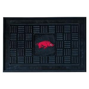 Buy FANMATS NCAA University of Arkansas Razorbacks Vinyl Door Mat by Fanmats