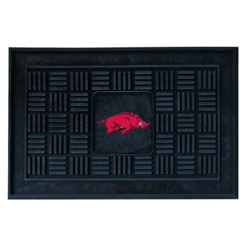 FANMATS NCAA University of Arkansas Razorbacks Vinyl Door Mat at Amazon.com