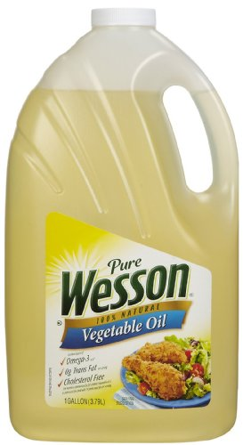 Wesson Vegetable Oil, 128 OZ (027000612323)