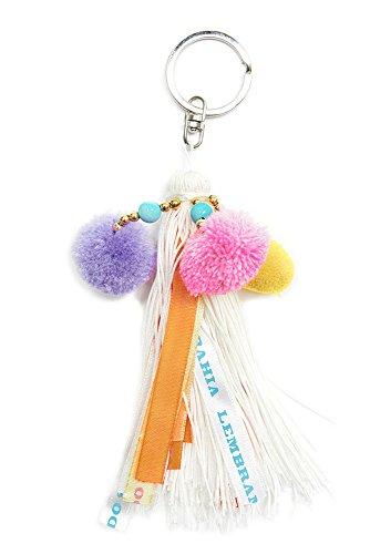 Portachiavi Bianco Keys Hipanema