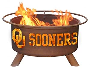 Patina Collegiate University of Oklahoma Fire Pit by Patina