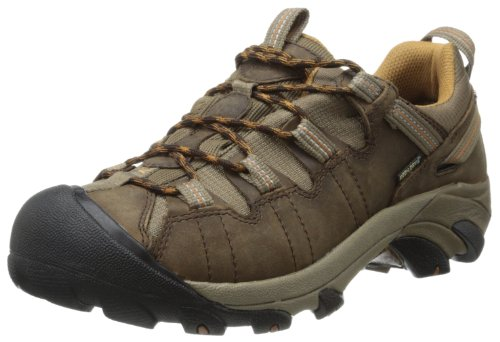 Keen Men's Targhee II Waterproof Hiking Shoe,Cascade Brown/Brown Sugar,10.5 M US