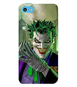 EPICCASE Villan Case Mobile Back Case Cover For Apple iPhone 5c (Designer Case)