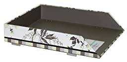 Laura Ashley Stackable Letter Tray, Natural Kyoto Collection, Single Item (761-6)