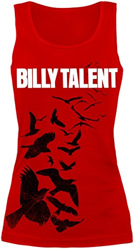Billy Talent Red Birds Top donna rosso L