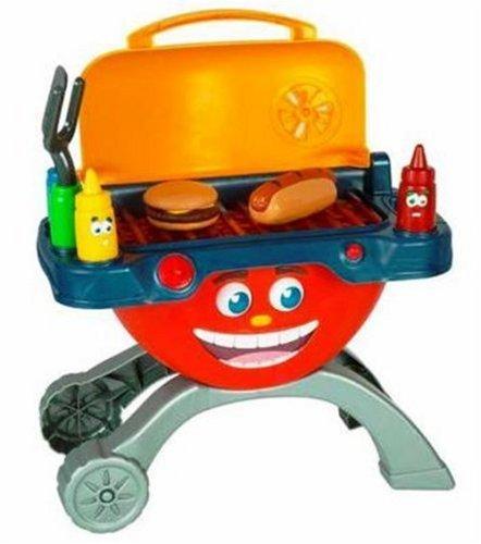 Hasbro playskool charlie coal the talking grill carhartt for Playskool kitchen set