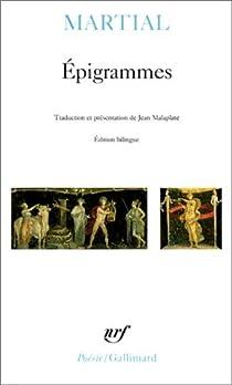 Epigrammes (version de Jean Malaplate) par Martial