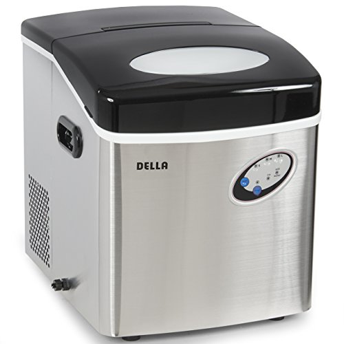 Della Stainless Steel Ice Maker Portable Countertop Freestanding Icemaker 48lb Per Day (Indoor Ice Maker compare prices)