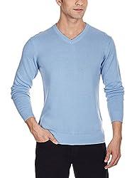 Quiksilver Men's Cotton Sweater (888256881914_EQYSW03040_XL_Faded Denim)