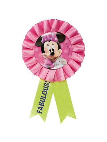 Minnie Mouse 'Bow-Tique' Guest Of Honor Ribbon (1ct) - 1