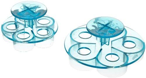ateco rose petal plunger cutters set of 2. Black Bedroom Furniture Sets. Home Design Ideas