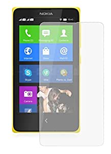 Heartly Crystal Clear Glossy Hot Transparent Protective Ultra Screen Gaurd Scratch Protector for Nokia X X+ Plus Dual Sim