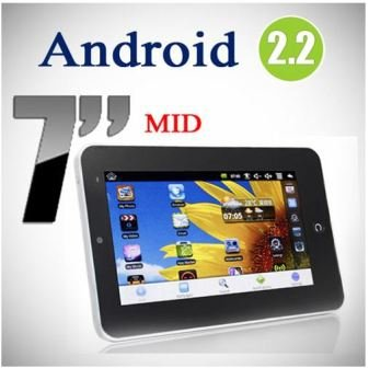 OTA 7 inch Android 2.2 VIA8650 ePad Tablet PC 3.0MP Camera, Supports External 3G Modem+WiFi+RJ45+Two Point Touch Screen+Flash 10.1