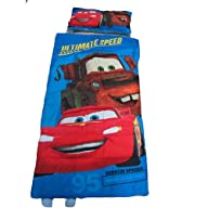 Disney Pixar Cars Slumber Bag and Pillow Set – Sleepover Set