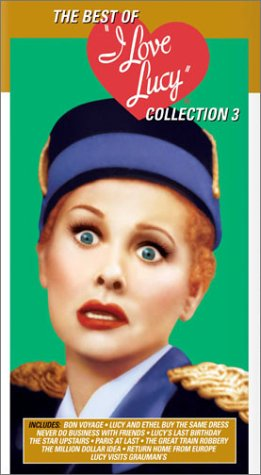 Best of I Love Lucy Collection 3 (2 VHS Volumes)